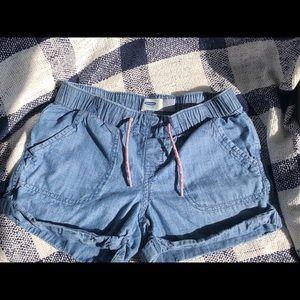 Old Navy Elastic Shorts, Girls size 8